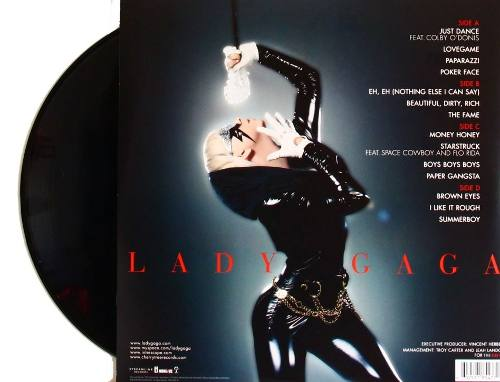 Lp Lady Gaga The Fame
