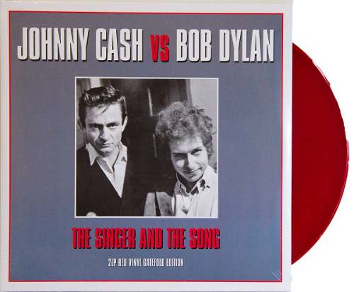 Lp Vinil Johnny Cash Vs Bob Dylan The Singer And The Song