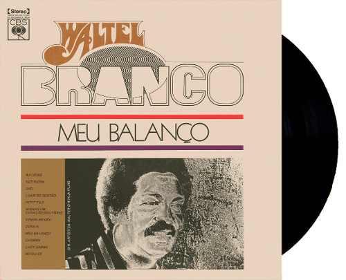Lp Vinil Waltel Branco Meu Balanço