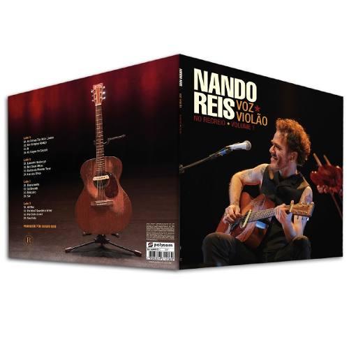 Lp Vinil  Nando Reis Voz E Violão No Recreio Vol. 1