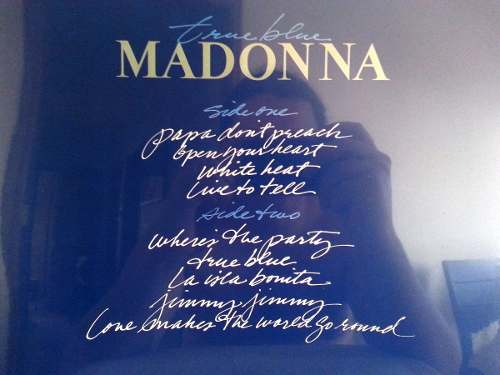 Lp Vinil Madonna True Blue