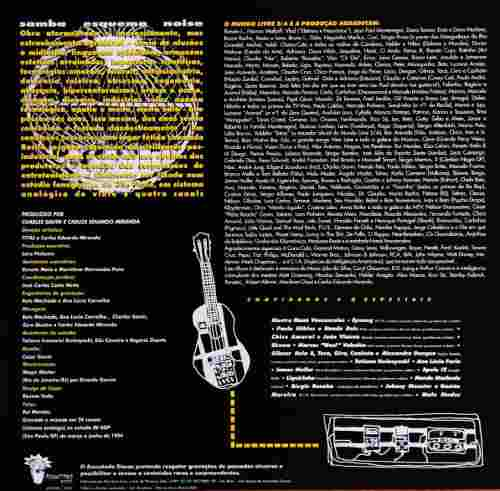 Lp Vinil Mundo Livre S/A Samba Esquema Noise