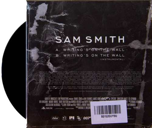 Lp Vinil Compacto Sam Smith Writings On The Wall 007 Spectre