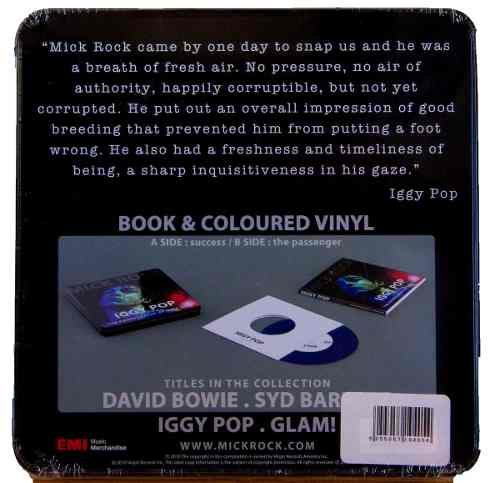 Lp Vinil Compacto Box Set Iggy Pop Mick Rock