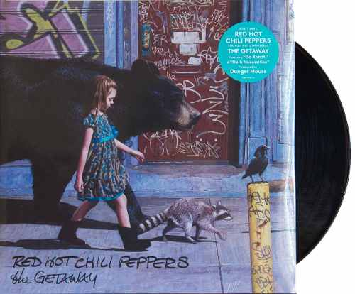 Lp Red Hot Chili Peppers The Getaway