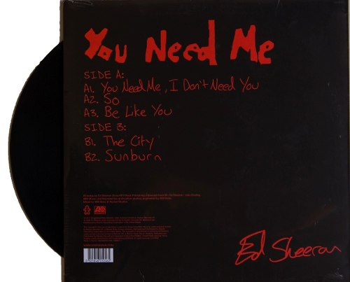 Lp Vinil Ed Sheeran You Need Me