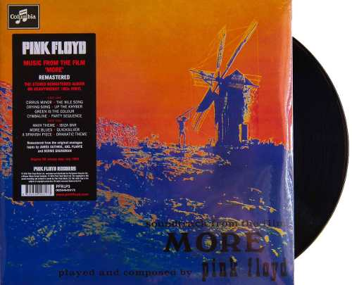 Lp Pink Floyd Music From The Filme More