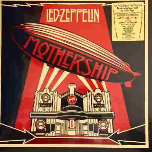 Lp Vinil Box Set Led Zeppelin Mothership