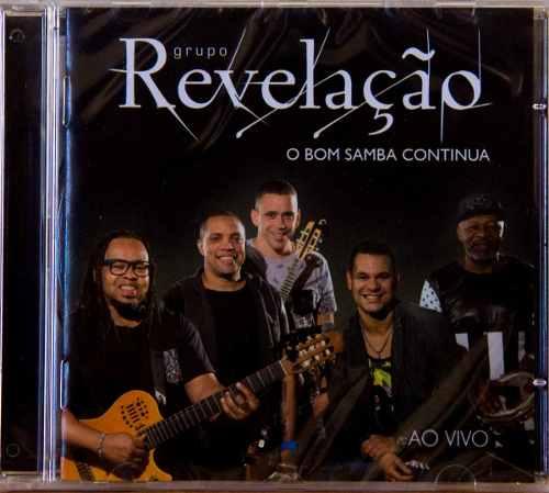Cd Grupo Revelação O Bom Samba Continua