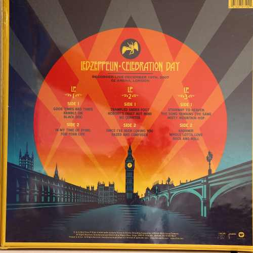 Lp Vinil Box Set Led Zeppelin Celebration Day