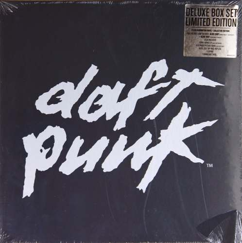 Lp Box Set Daft Punk Alive 1997 & 2007