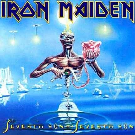 Cd Iron Maiden Seventh Son Of A Seventh Son