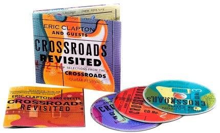 Cd Eric Clapton And Guests Crossroads Revisited