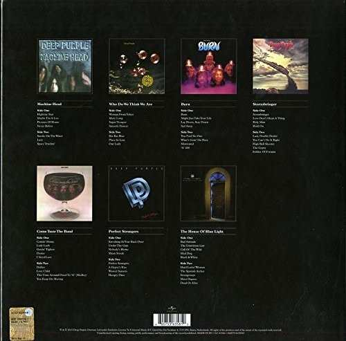 Lp Vinil Box Set Deep Purple The Vinyl Collection