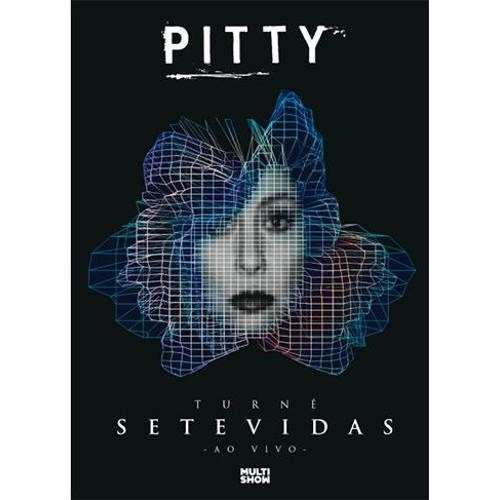 Dvd Pitty Turne Sete Vidas Ao Vivo