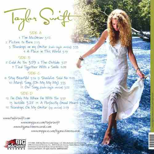 Lp Taylor Swift 2006