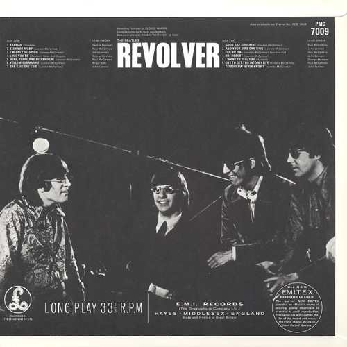 Lp Vinil The Beatles Revolver Mono