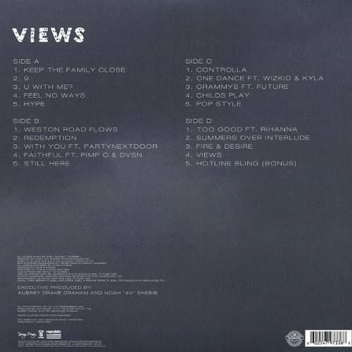Lp Vinil Drake Views