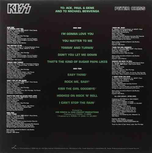 Lp Vinil Kiss Peter Criss Picture