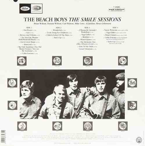 Lp The Beach Boys Smile