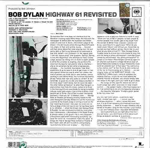 Lp Vinil Bob Dylan Highway 61 Revisited