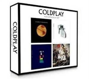 Cd Box Set Coldplay 4 Cds