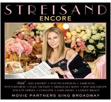 Cd Barbra Streisand Encore Movie Partners Sing Broadway