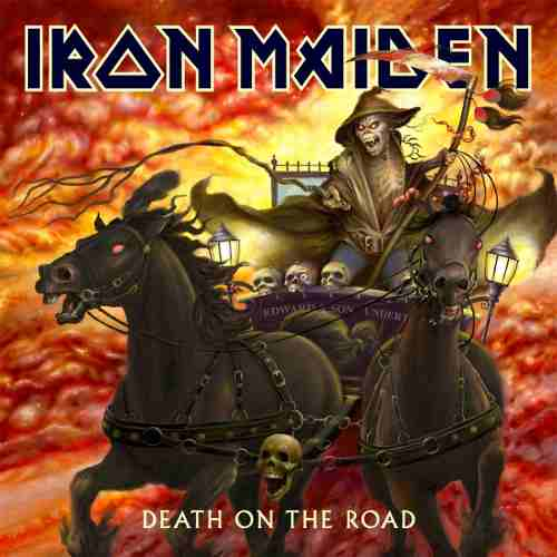 Cd Iron Maiden Death On The Road