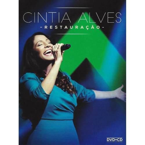 Dvd + Cd Cintia Alves Restauração Ao Vivo
