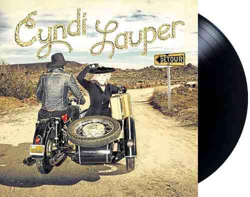 Lp Vinil Cyndi Lauper Detour