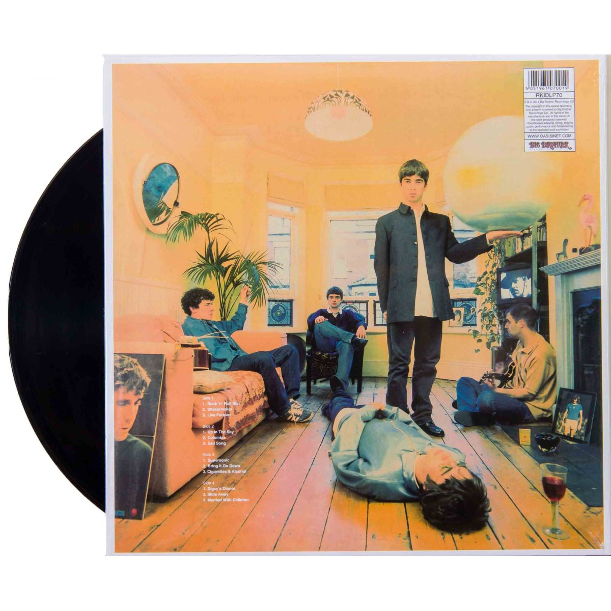 Lp Vinil Oasis Definitely Maybe