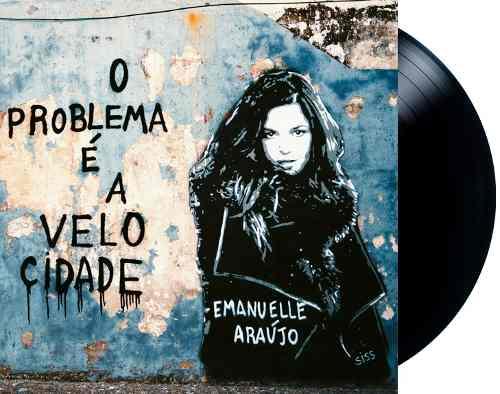 Lp Vinil Emanuelle Araujo O Problema É A Velocidade