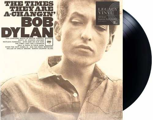 Lp Vinil Bob Dylan The Times They Are A-Changing