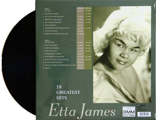 Lp Vinil Etta James 19 Greatest Hits At Last