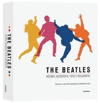 Livro The Beatles História, Discografia, Fotos E Documentos