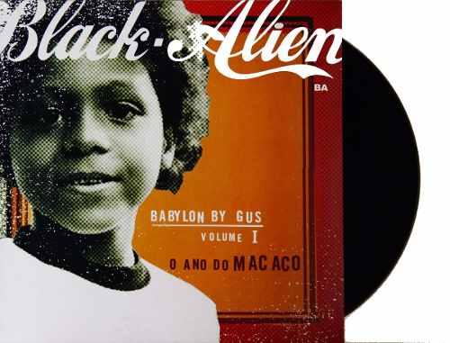 Lp Black Alien O Ano Do Macaco