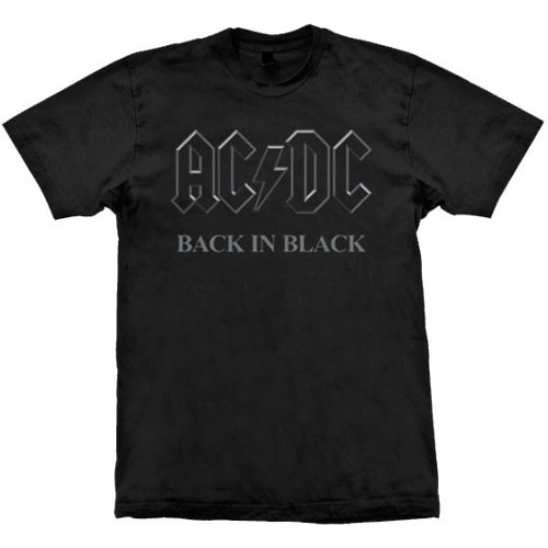 Camiseta AC/DC Back In Black