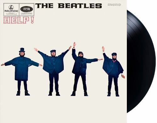 Lp The Beatles Help! Mono