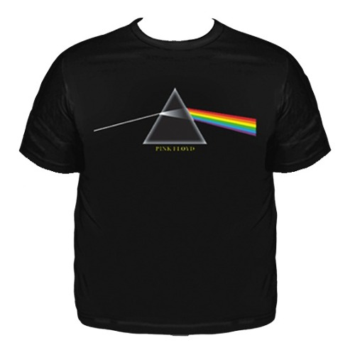 Camiseta Plus Size Pink Floyd Dark Side Of The Moon