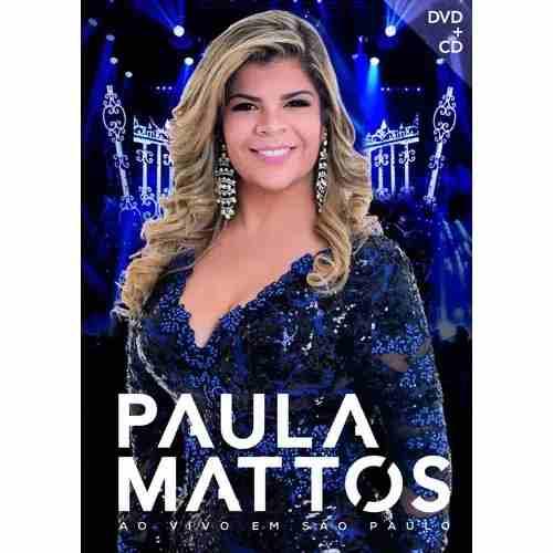 Dvd + Cd Paula Mattos Ao Vivo Em São Paulo