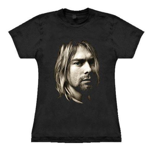 Camiseta Baby Look Feminina Nirvana Kurt Cobain