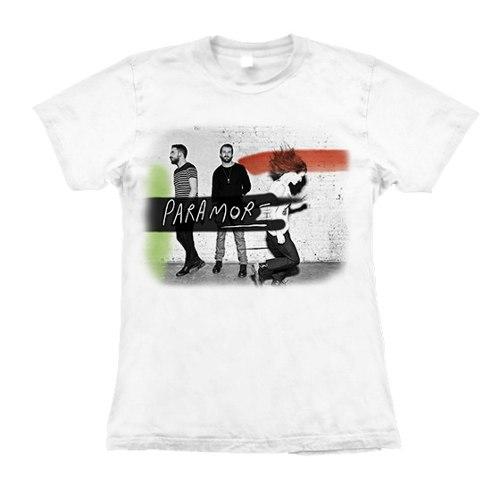 Camiseta Baby Look Feminina Paramore