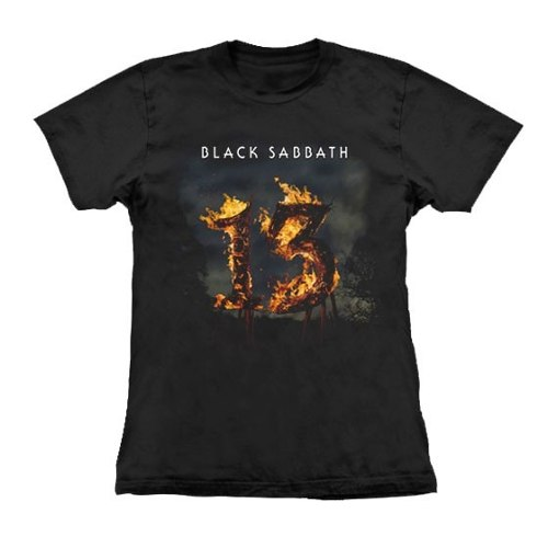 Camiseta Baby Look Feminina Black Sabbath 13