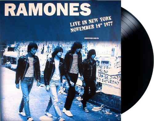Lp Vinil Ramones Live In New York November 14th 1977