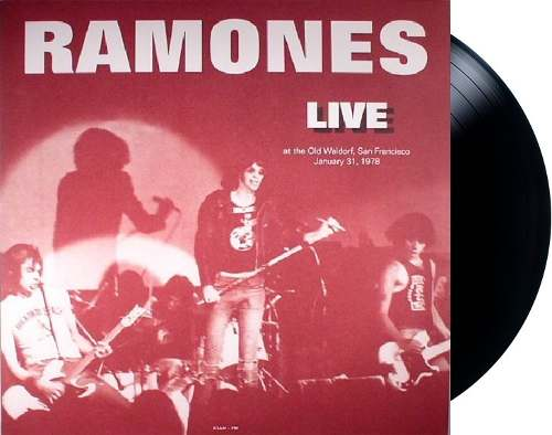 Lp Vinil Ramones Live At The Old Waldorf