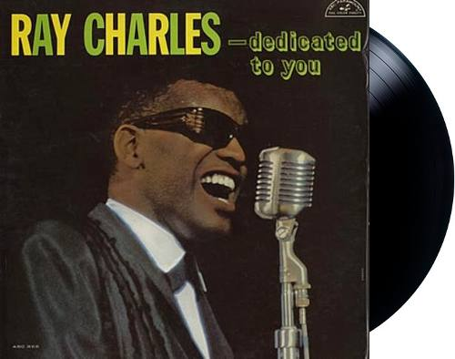 Lp Vinil Ray Charles Dedicated To You