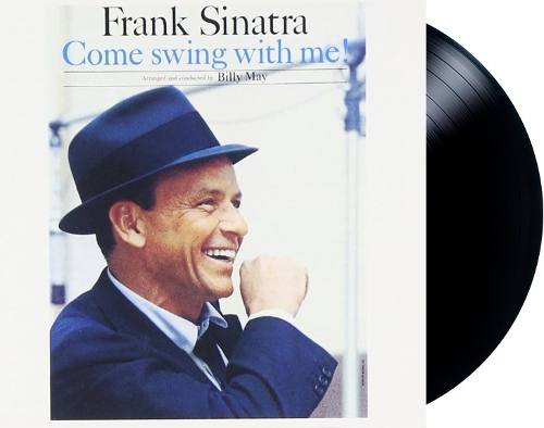 Lp Vinil Frank Sinatra Come Swing With Me!