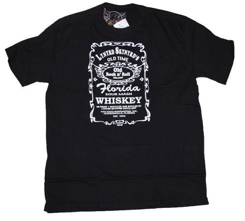 Camiseta Lynyrd Skynyrd Whisky Jack Daniels