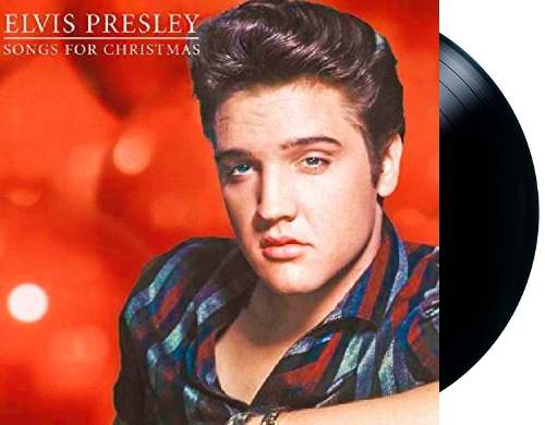 Lp Vinil Elvis Presley Songs For Christmas