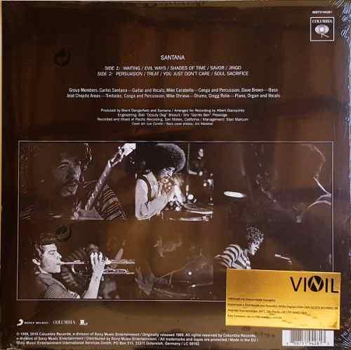 Lp Vinil Santana 1969